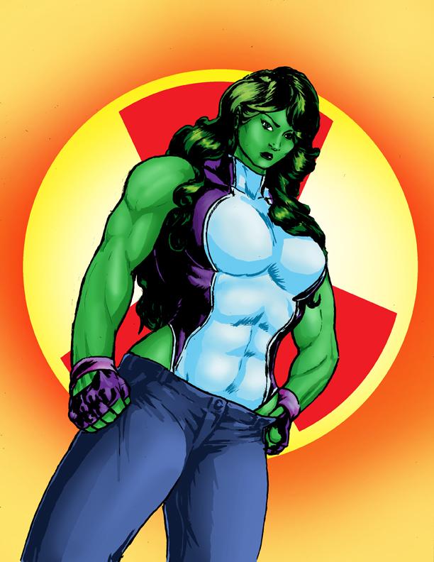 She Hulk by CarlChrappa