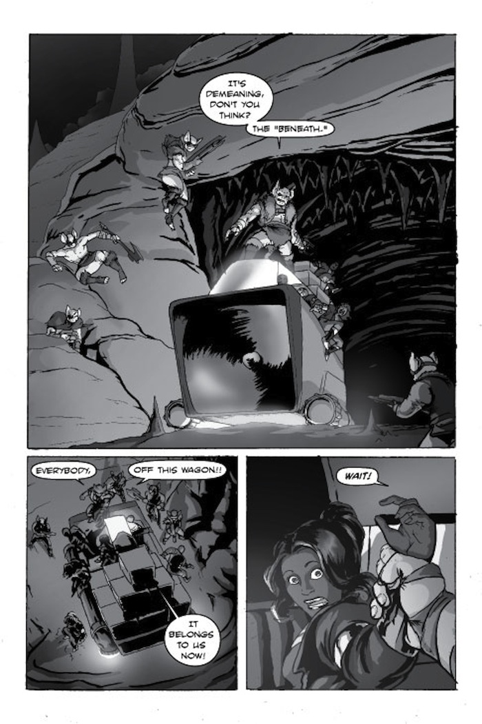 World of Caiaal page 9 by CarlChrappa
