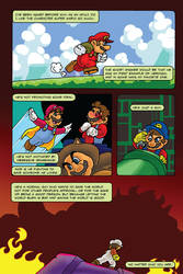 Super Mario 30th anniversary comic by CarlChrappa