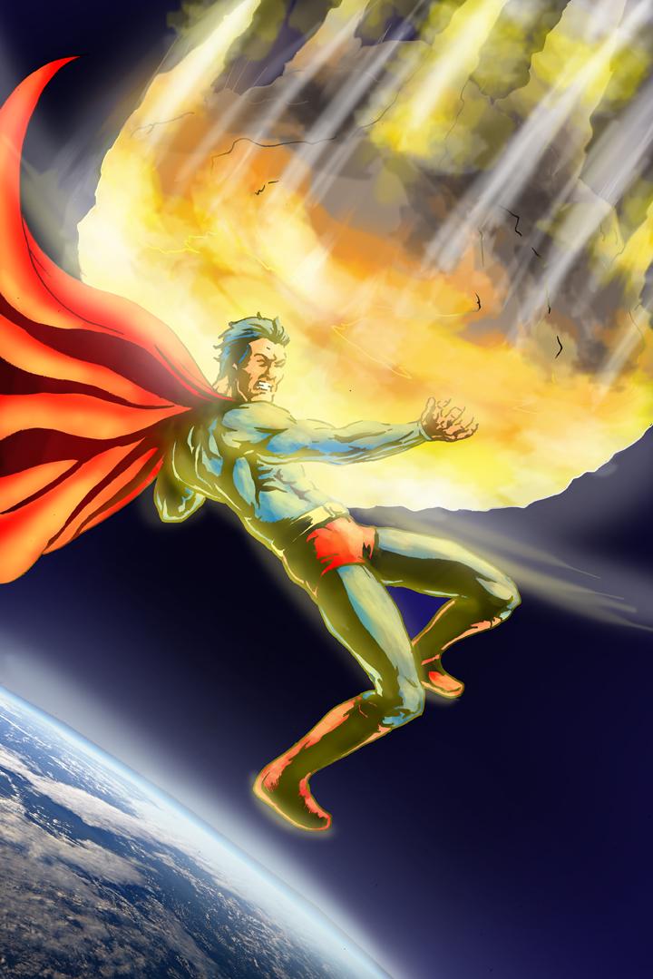 Superman by CarlChrappa