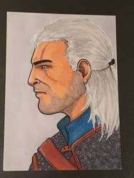 Geralt of Rivia by RiHouston