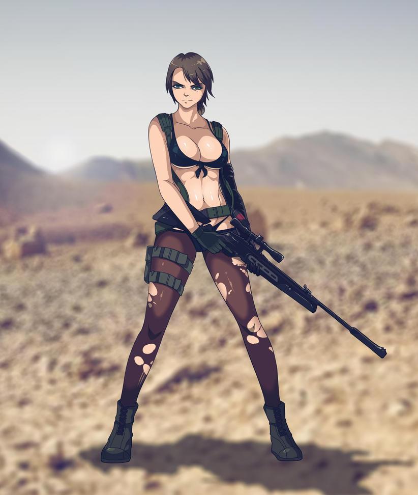Metal Gear Solid: Quiet by Texic