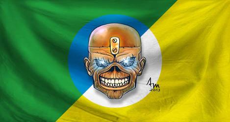 Em homenagem ao show no Brasil do Iron Maiden by alexmarques