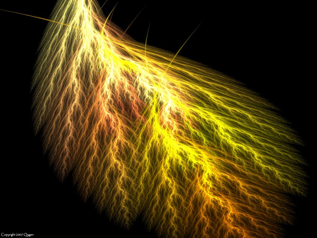 yellow lightning wallpaper - photo #44