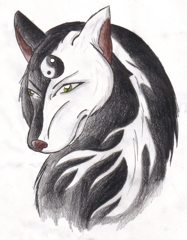 d17ee97f933ab Yin Yang Wolf by gamer996 by gamer996 on DeviantArt