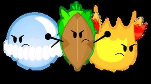 ObjectMon: Chespin, Fennekin, and Froakie