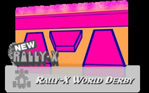 SSBBR Stage: Rally-X World Derby