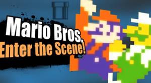 SSB4 Newcomer - Mario Bros. Enter The Scene!