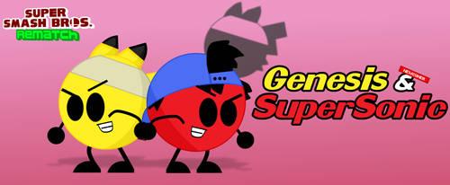 Super Smash Bros. Rematch - Genesis and SuperSonic