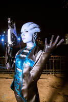 Liara Mass effect 3 by ChiseLuneth