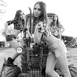 Posing Farmgirls