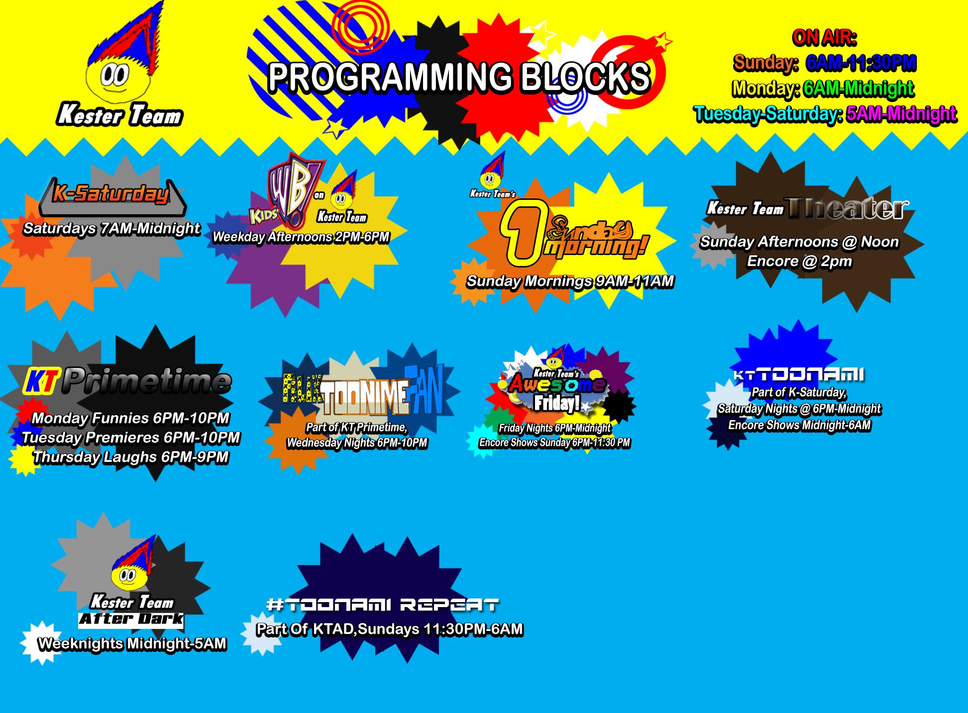 Kester Team Programing Blocks by CreativeArtist-Kenta