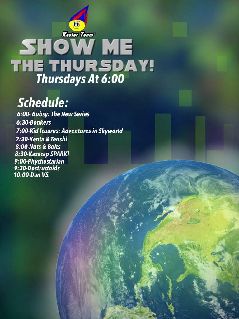 Kts show me the thursday new schedule spring 2015 by for Spring craft shows near me