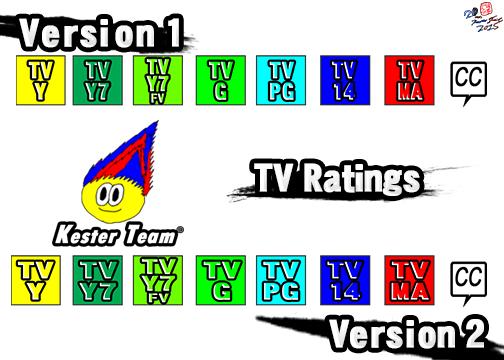 Kester Team TV Ratings comparision by CreativeArtist-Kenta
