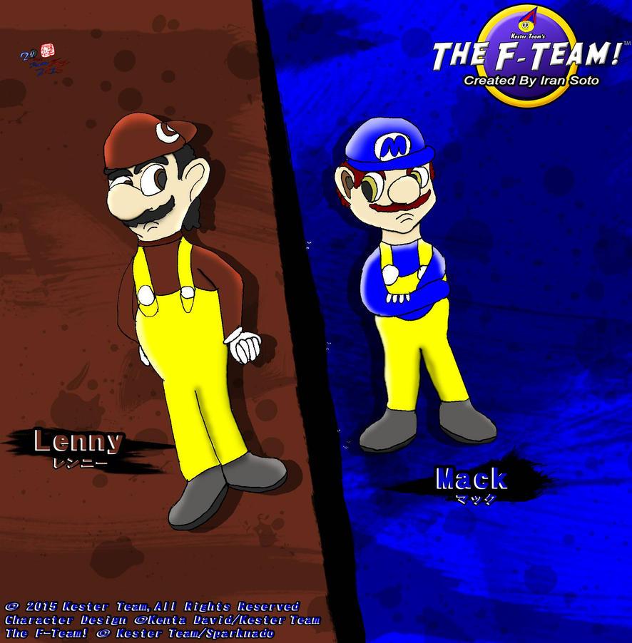 Meet Mack and Lenny by CreativeArtist-Kenta