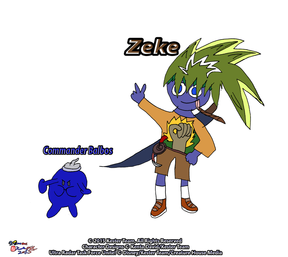 Zeke and Commander Balbos by CreativeArtist-Kenta