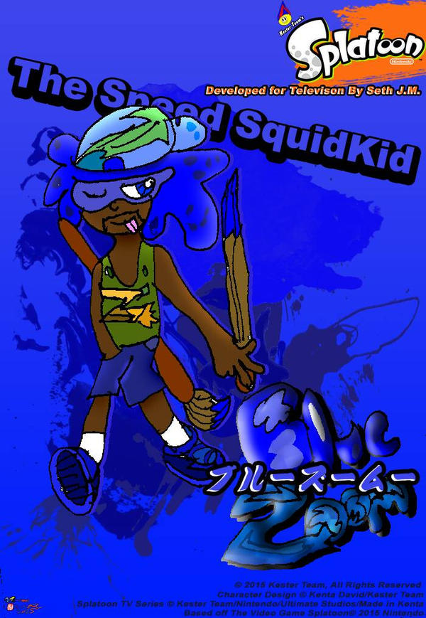 Meet the fastest Squid Kid alive  by CreativeArtist-Kenta
