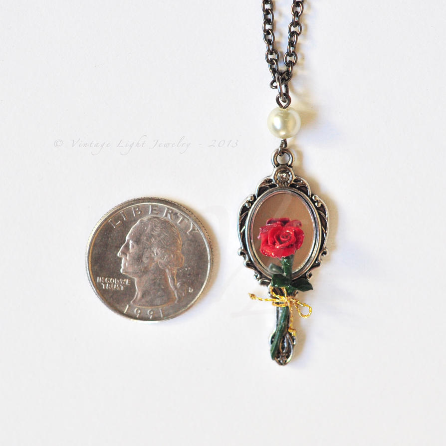 rose beauty bees colours products in pendant comes beast inspired the necklace and screen at shot by