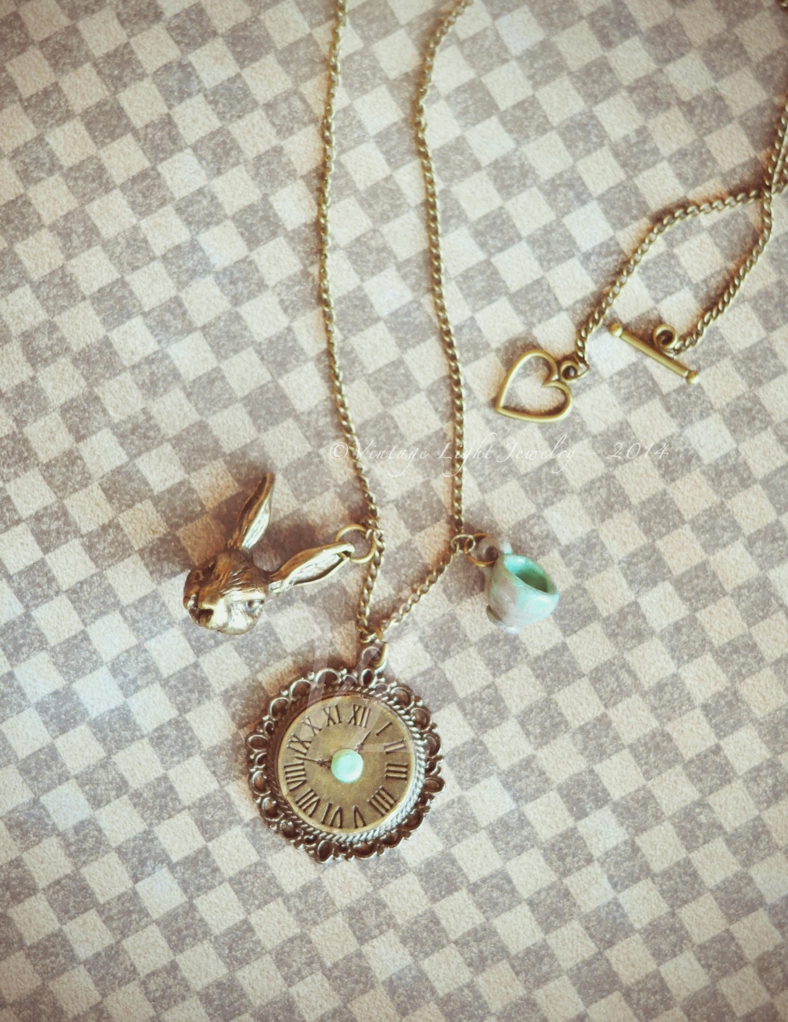 A Piece of Wonderland - 2 by VintageLightJewelry
