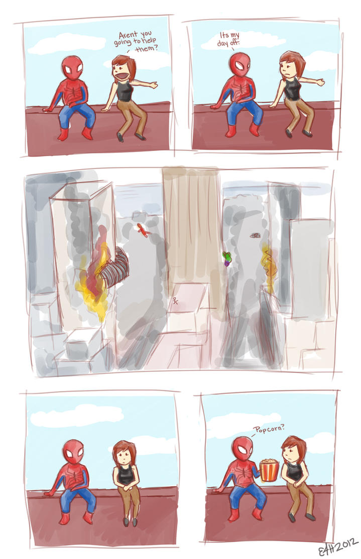 The Avengers: Spiderman's Story by lissybeth123