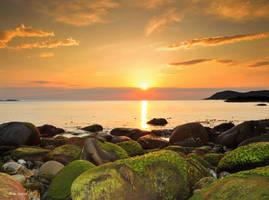 Golden Seascape by steinliland