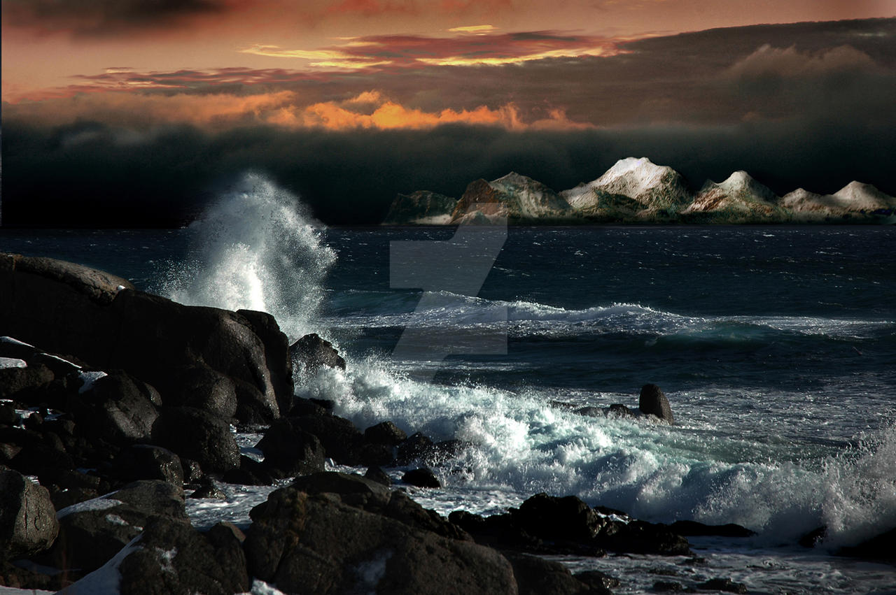 Arctic storm is coming by steinliland