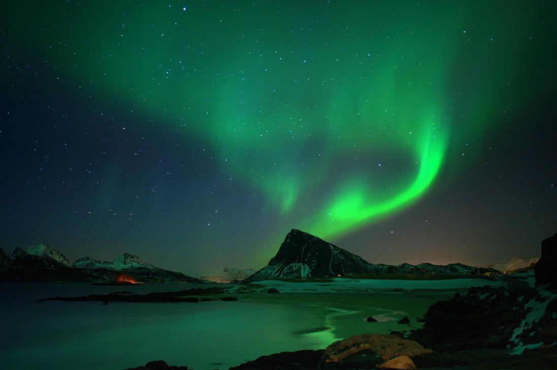 Aurora Borealis sec. ver. by steinliland