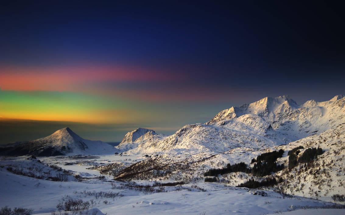 Wintermoods in Lofoten by steinliland