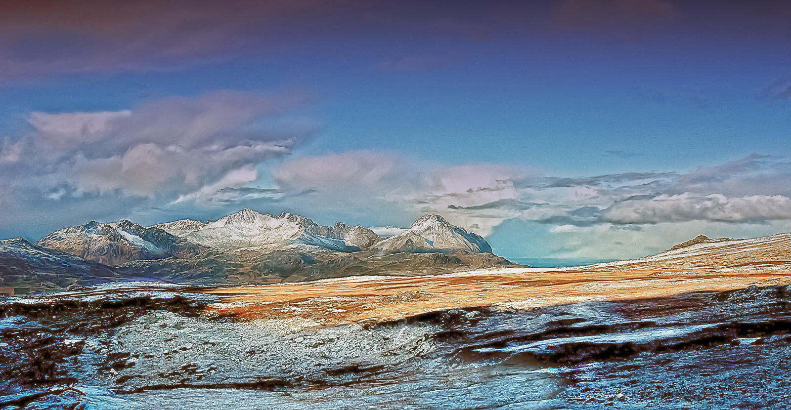 Frozen Land by steinliland