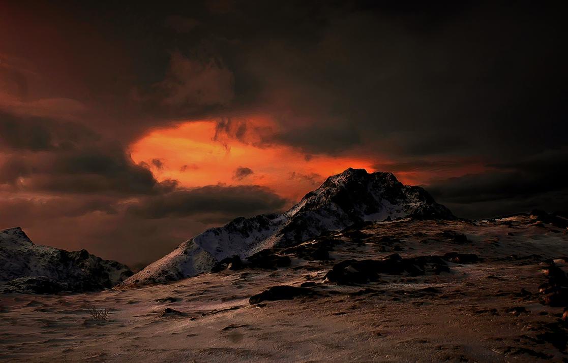 A Mordor Sceene by steinliland