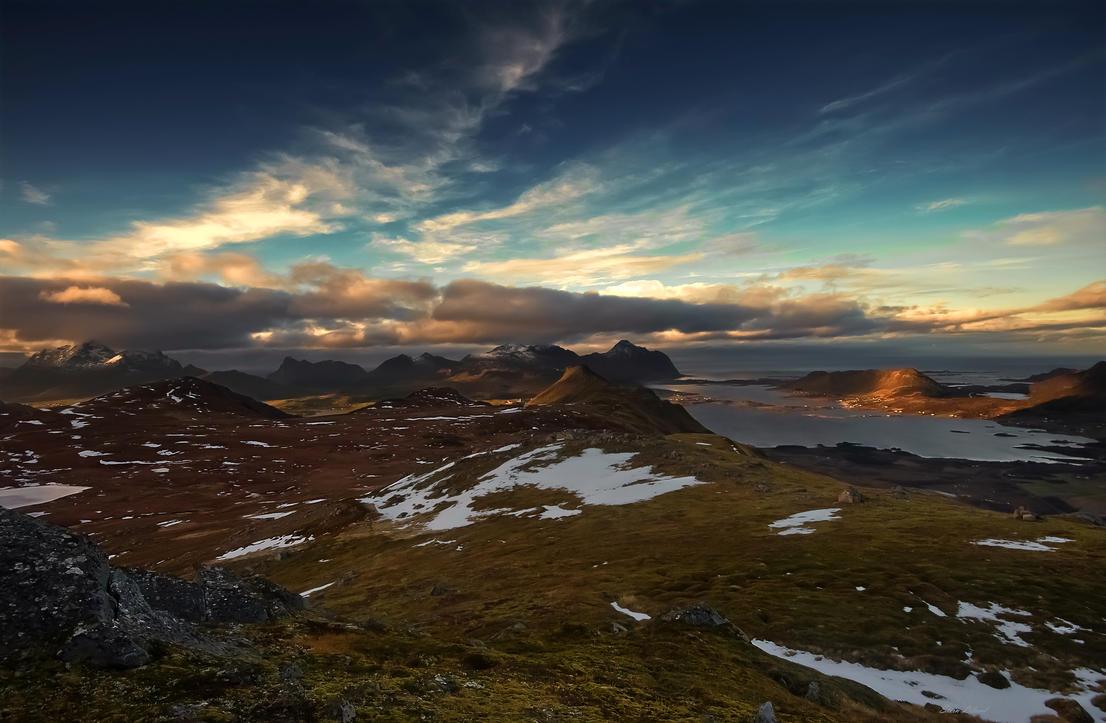 From Brattflogan Lofoten by steinliland