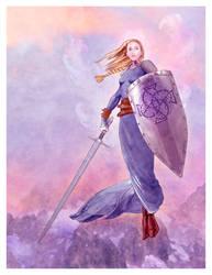 Shield Maiden by aaronace