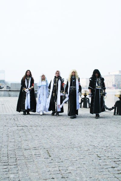 Trinity Blood - AX by adelhaid