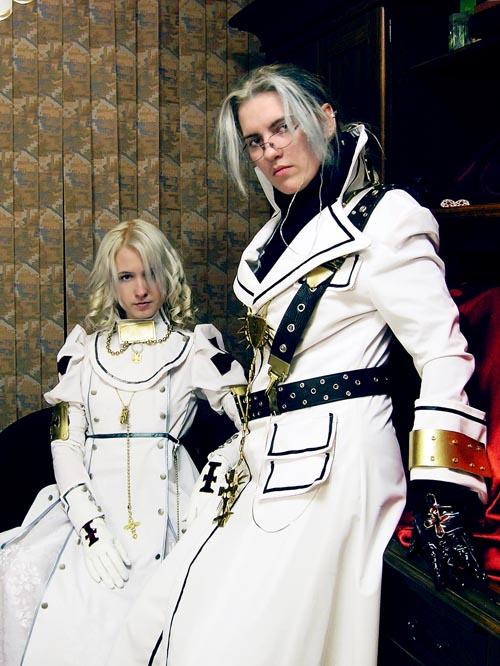 Trinity Blood - White Dress by adelhaid