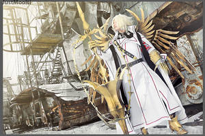 Trinity Blood - Cain by adelhaid
