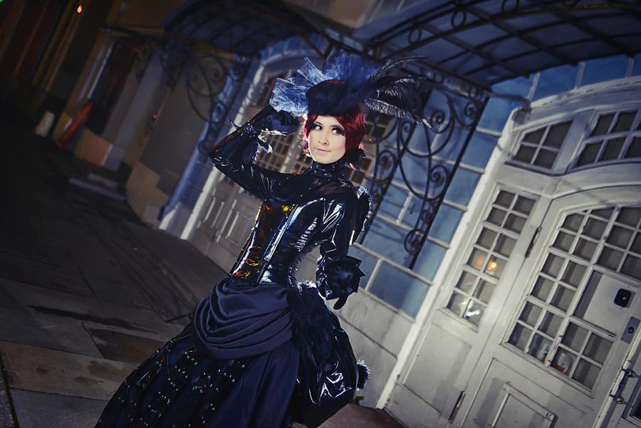 Victorian Goth by adelhaid