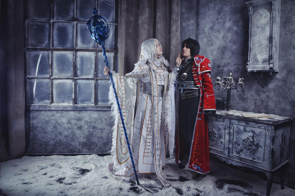 Sora with Kannagi by adelhaid