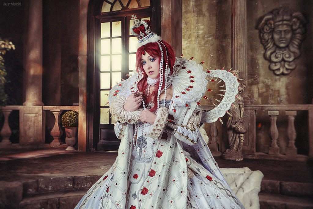 Trinity Blood - Young Queen by adelhaid