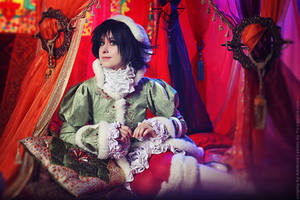 Trinity Blood - Empress's Chamber by adelhaid