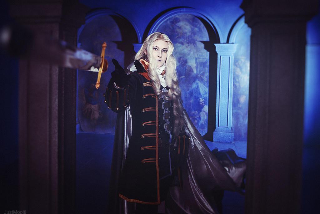 Alucard - Castlevania by adelhaid