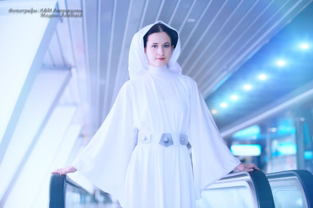 Star Wars - Princess Leia by adelhaid