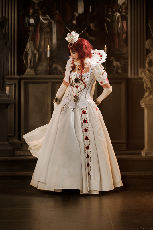 Trinity Blood - Modesty by adelhaid