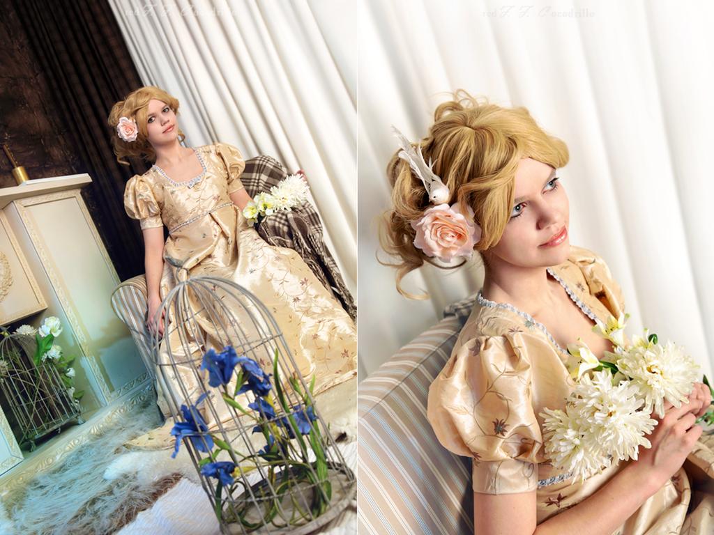 Taffeta dress by adelhaid
