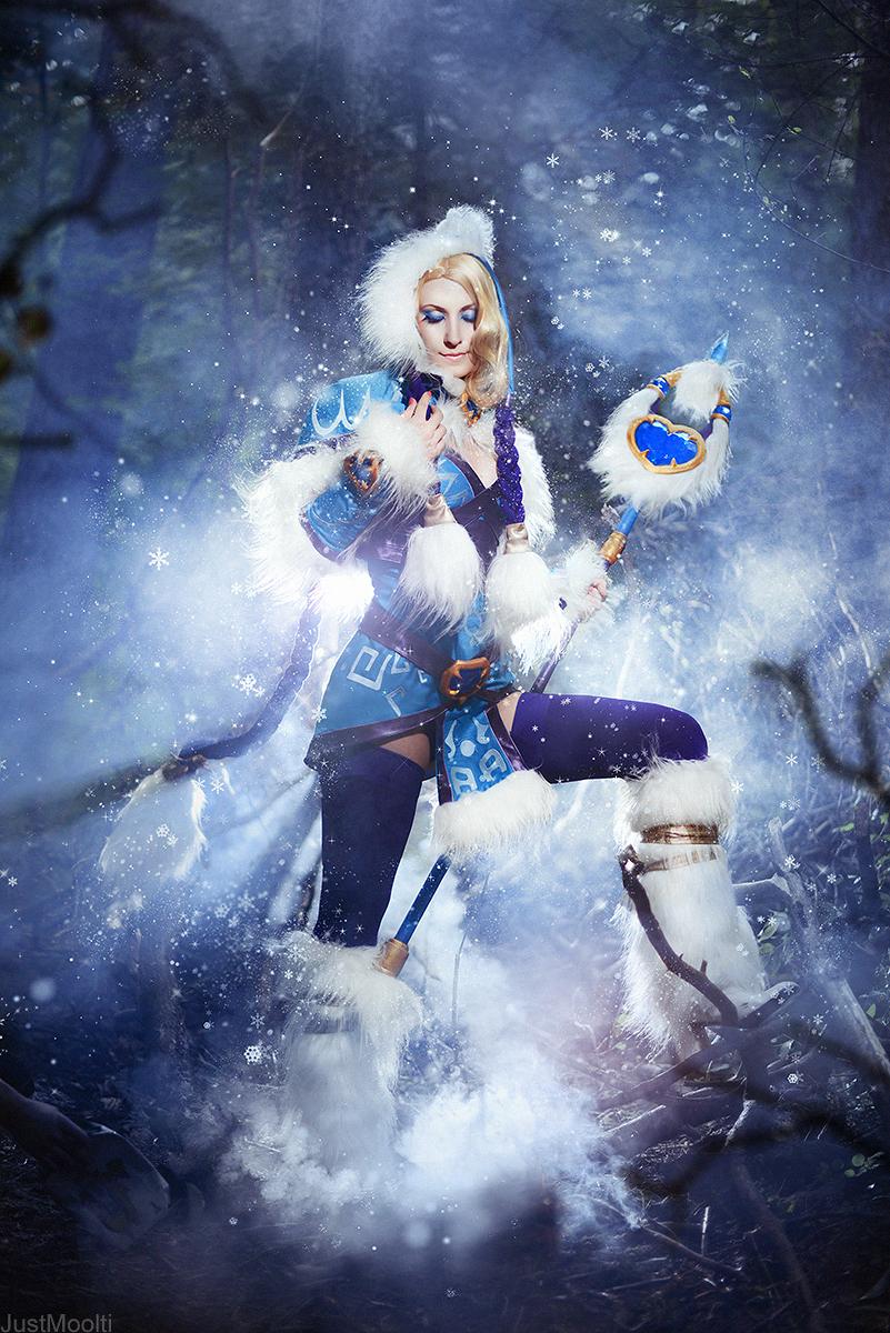 DotA 2 - Winter Snowdrop by adelhaid