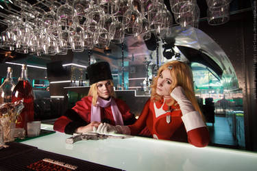 At the Bar by adelhaid