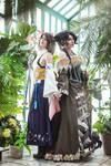 Final Fantasy X - Yuna and Lulu by adelhaid