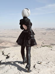 Come with me - NieR: Automata by adelhaid