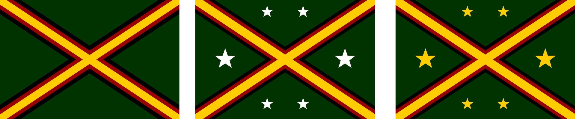 East African Federation Alternate Flag Designs