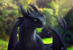 Toothless (realistic version)
