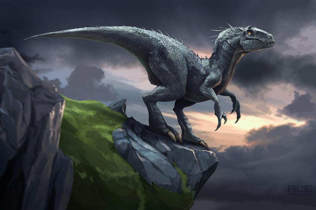 Indominus Rex by DanteFitts